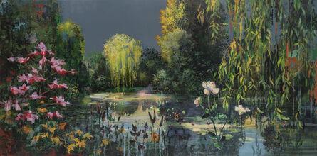 Eric Roux-Fontaine, 'Les jardins d'eaux et de feux I', 2020