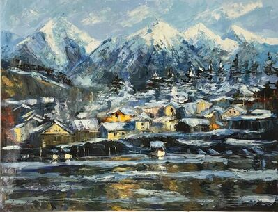 Elena Bond, 'Snowfall Alaska', N/A
