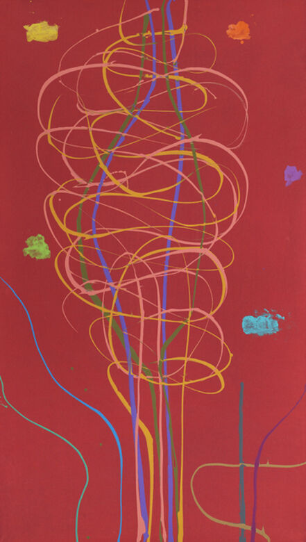 Dan Christensen, 'Morning with Miro', 2005