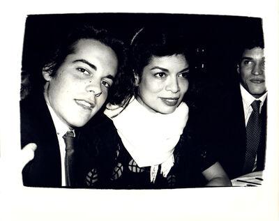 Andy Warhol, 'Andy Warhol, Photograph of John Stockwell and Bianca Jagger circa 1980', ca. 1980