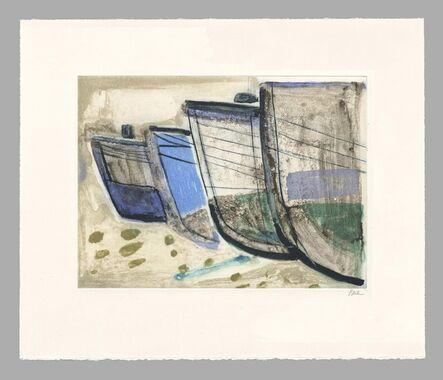 Barbara Rae, 'Old Boats Sisimiut', 2019