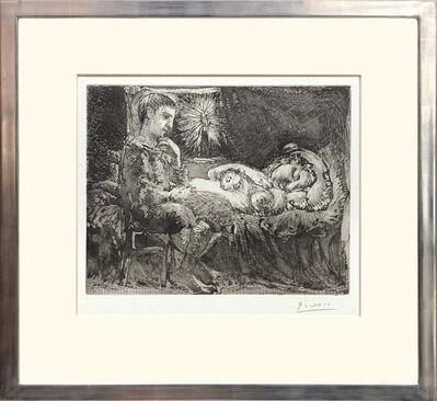 Pablo Picasso, 'Garcon et dormeuse à la chandelle', 1934