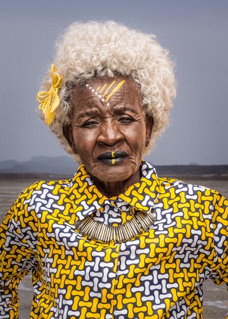 Osborne Macharia, 'Magadi Portrait 2', 2017