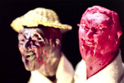 Thomas Schütte, 'United Enemies: A play in ten scenes (red head with hat)'