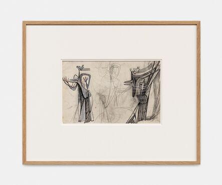 Julio González, 'Etudes de femmes debout', 1941