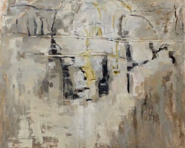 Miklos Bokor, 'Grande paroi diurne', 1989