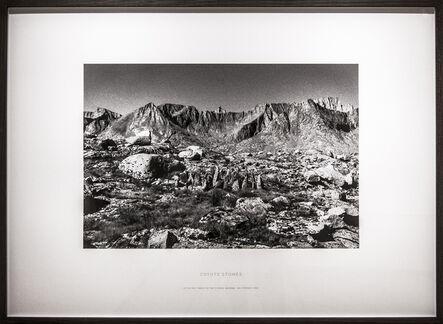 Richard Long, 'Coyote Stones (A Five-Day Walk in the Sierra Nevada, California, 1992)', 1992