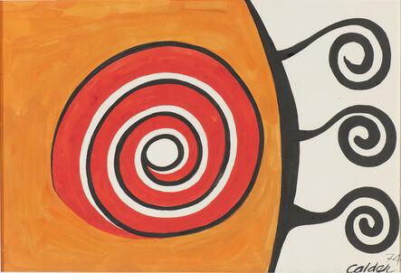 Alexander Calder, 'Untitled (Arabesque)', 1974