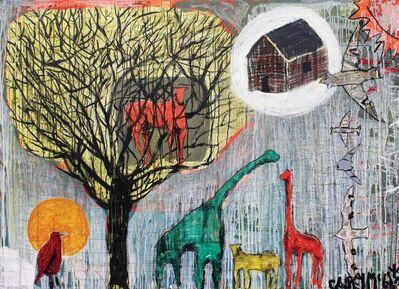 Casey McGlynn, 'Horse in Tree, House in Sky', 2016