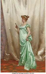 Vittorio Reggianini, 'The love letter'
