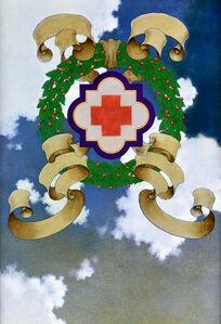 Maxfield Parrish, 'Original Illustration for Red Cross Advertisement', 1918