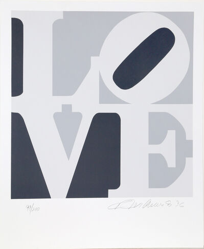 Robert Indiana, '4 from The Book of Love', 1996