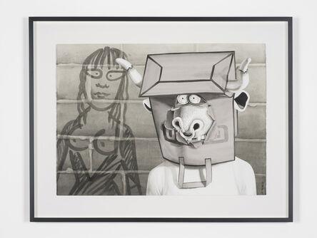 Mary Reid Kelley, 'Minotaur with Ariadne', 2013