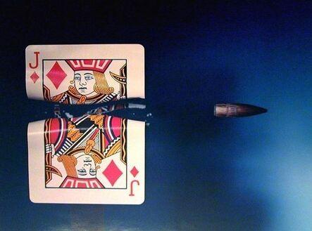 Harold Eugene Edgerton, 'Bullet Through Jack', 1964