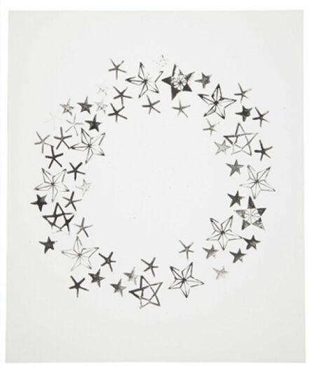 Andy Warhol, 'Wreath and Stars', 1954