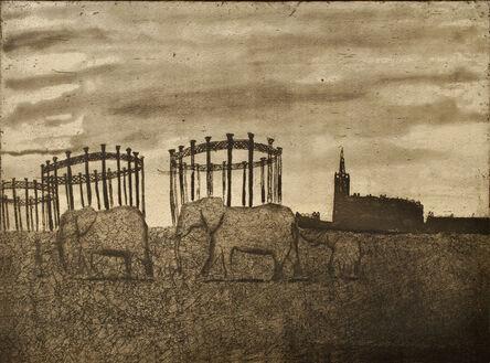 Mychael Barratt, 'Urban Myths V - A Memory of Elephants in King's Cross'