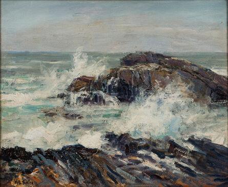 Will Vawter, 'New Harbor Coast, Maine'