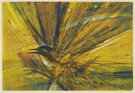 Wayne Thiebaud, 'Untitled (Bird)', 1958