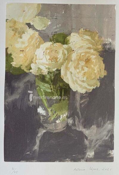 Antonio López García, 'Rosas de invierno', 2021
