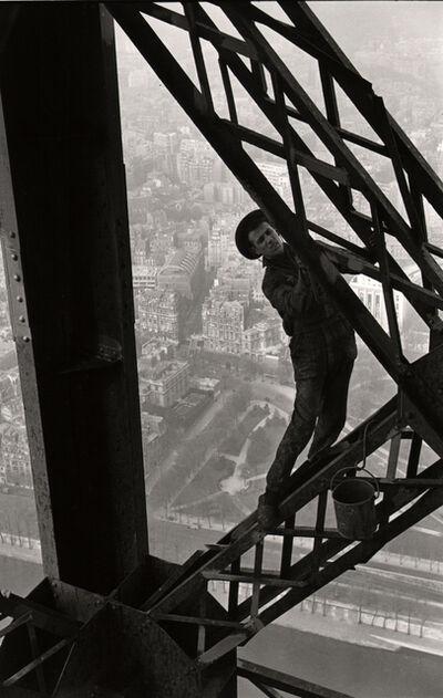 Marc Riboud, 'Variant of The Eiffel Tower Painter, Paris.', 1953