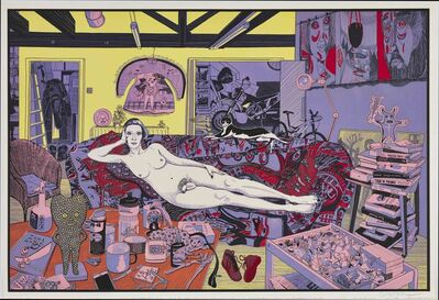 Grayson Perry, 'Reclining Artist (small)', 2017