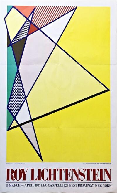 Roy Lichtenstein, 'Roy Lichtenstein at Leo Castelli', 1987