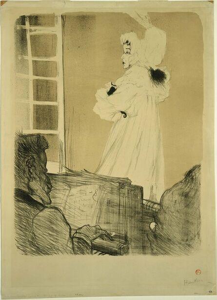 Henri de Toulouse-Lautrec, 'Miss May Belfort (State I)', 1895