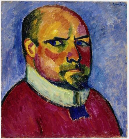 Alexej von Jawlensky, 'Self-Portrait', 1911