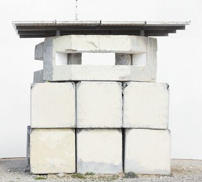 Oded Balilty, 'Front (Military Post, Netiv Ha'asara, Gaza Border)', 2017