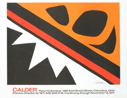Alexander Calder, 'La Grenouille et la Scie (small)', 1971