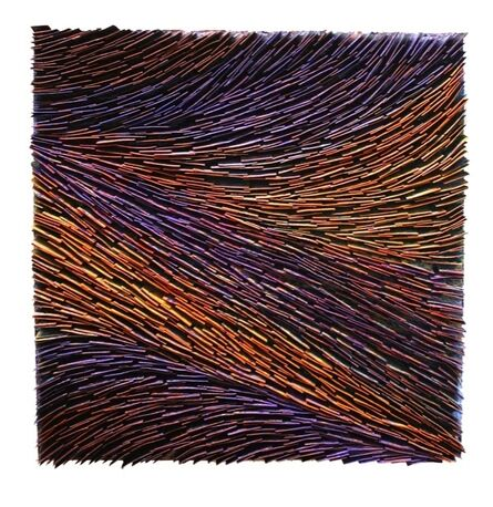 Pat McNabb Martin, 'Purple Rhythm'