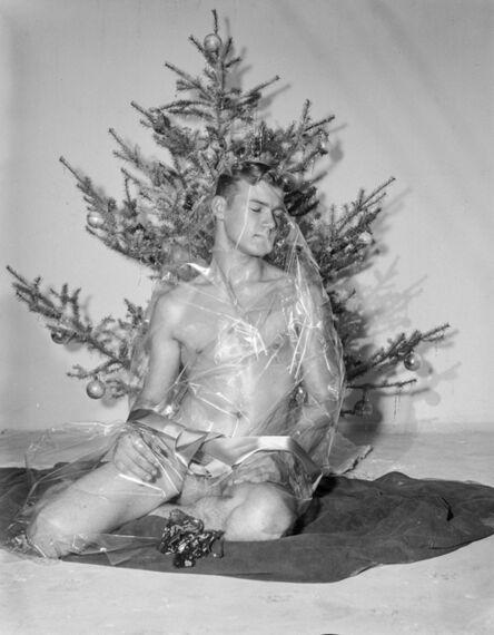Bob Mizer, 'Bill Seiner (wrapped), Los Angeles', 1956