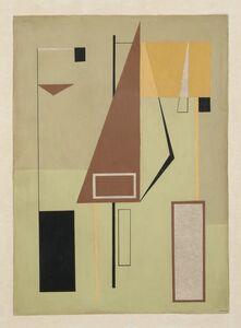 Luis Martinez Pedro, 'Untitled', 1956