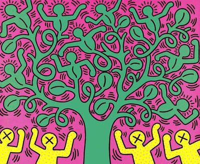 Keith Haring, 'Tree of Life poster', ca. 1993