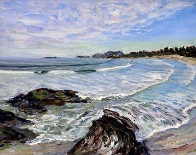 Terrill Welch, 'Wickininnish Beach Study', 2020