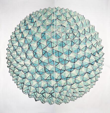 Dagoberto Rodríguez, 'Planeta de Cristal II', 2020
