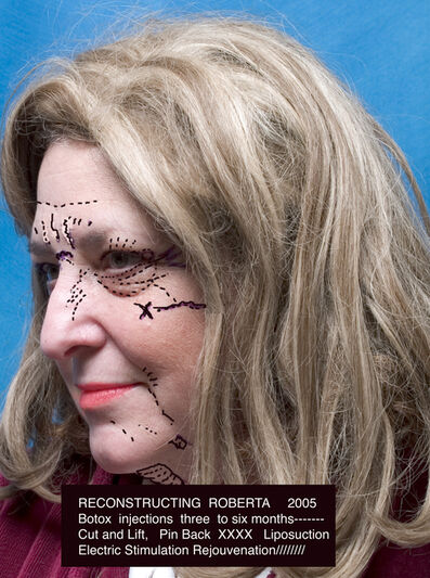 Lynn Hershman Leeson, 'ReConstructing Roberta', 2005