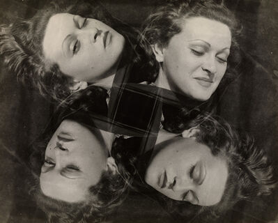Erwin Blumenfeld, 'Manina, Four Expressions', ca. 1937