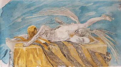 Félicien Rops, 'L'agonie', 1896