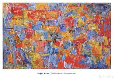 Jasper Johns, 'Map (lg)', 2011