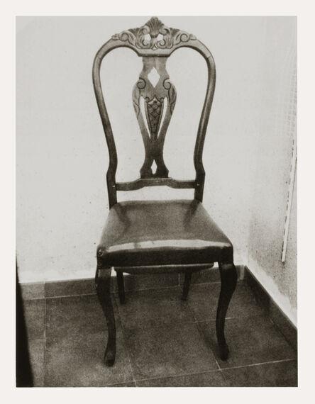 Patti Smith, 'Roberto Bolaño's Chair 1, 2010, Blanes, Spain', 2010
