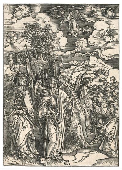 Albrecht Dürer, 'Four angels stopping the wind.'
