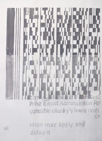 Ana Bidart, 'Pasaporte detail (grid)', 2014