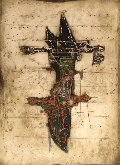 Johnny Friedlaender, 'Untitled - Abstract Form', circa 1975