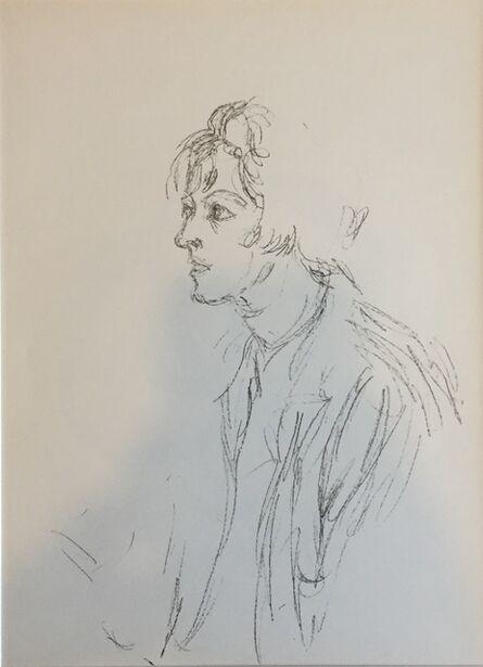 Alberto Giacometti, 'Portrait d'Annette', 1951
