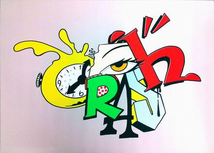 """CRASH (John """"Crash"""" Matos), 'Clock 2', 2014"""