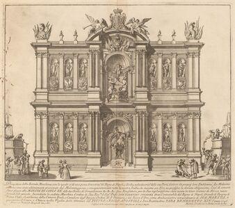 "Miguel de Sorellò after Francisco Preciado de la Vega (designer), 'The Kingdom of Naples, for the ""Chinea"" Festival', 1746"