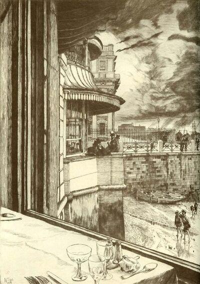 James Jacques-Joseph Tissot, 'Trafalgar Tavern, Greenwich', 1878