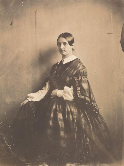 Frank Chauvassaignes, 'Portrait of a Woman', ca. 1850
