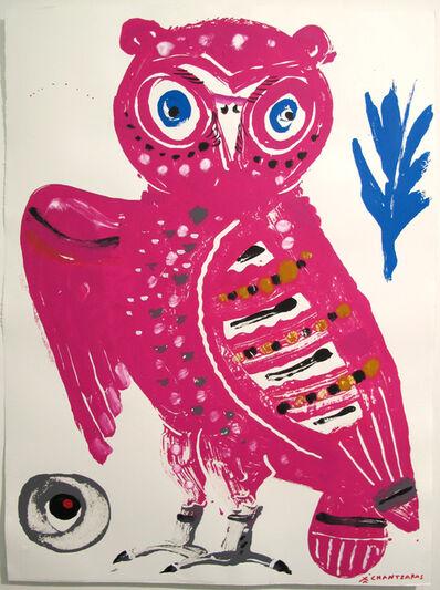 """Apostolos Chantzaras, 'Kallias, Owl #7 from """"The Wise Guys"""" series', 2017"""